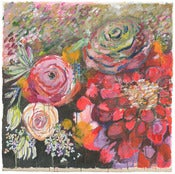"Image of raleigh flowers 30.5""x30.5"""