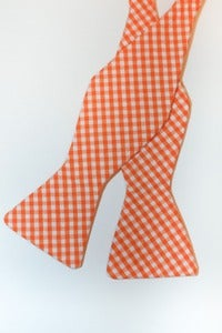 Image of Orange Gingham