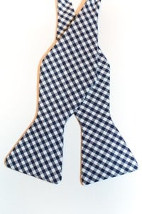 Image of Dark Blue Gingham