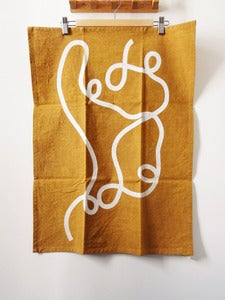 Image of Tea Towel (yellow or blue)