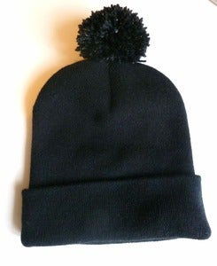 Image of White Flecked Bobble Hat