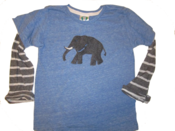 "Image of 6y-10y "" Elephant"" tee"