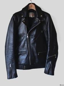 Image of Lewis Leathers - Customized Black Cyclone Jacket