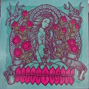 Image of BLUE TARA original painting