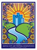 Image of BAYOU CITY ART FEST POSTER