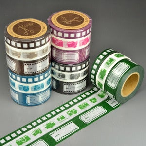 Image of Scrapaholic Film Camera Washi Tape