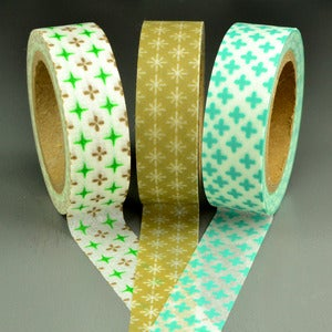 Image of Cross Patterned Washi Tape
