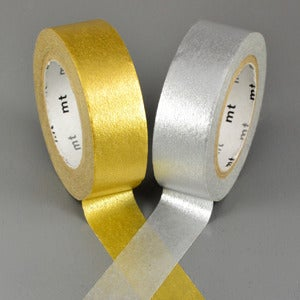 Image of Silver + Gold Washi Tape
