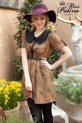 Image of Milk Maid Dress (brown)