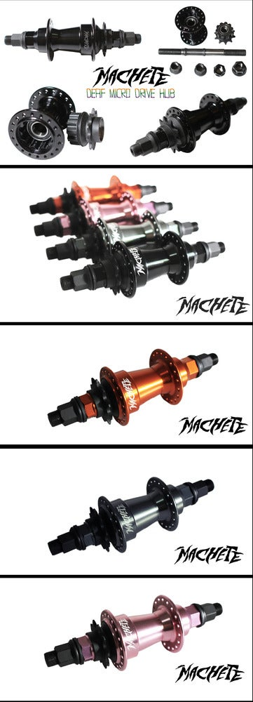 Image of Machete Deaf Rear Hub 