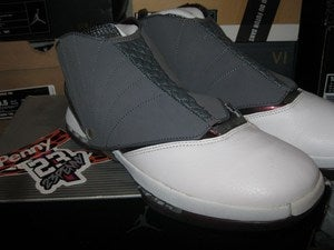 "Image of Air Jordan XVI (16) + Q M ""Cherrywood"" *SOLD OUT*"