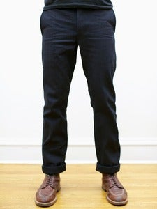Image of Cone White Oak Indigo Selvedge Canvas Tailored Chinos