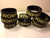 Image of Official WompWorthy.com Wristband