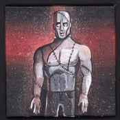 Image of Halloween Painting #4:  Frankenstein's Monster