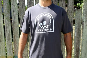 Image of the Headstone: Charcoal Tee