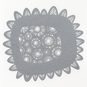 Image of Shine - Hand Printed in Beautiful Sparkly Silver Ink.