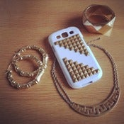 Image of Samsung Galaxy 3 Studded Phone Case (SEE MORE COLORS)