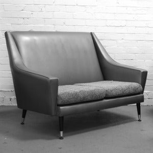 Image of Bespoke Small Vintage Sofa