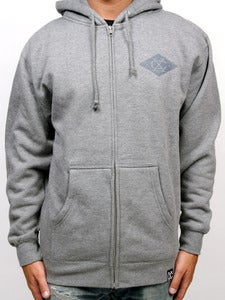 Image of SHIELD ZIP-UP (Gunmetal)