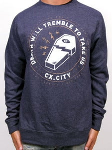 Image of BROKEN COFFIN CREW (Navy Heather)