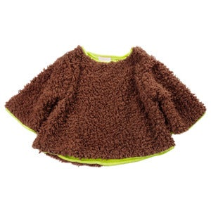 Image of franky grow | brown fur pullover