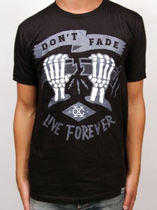 Image of LIVE FOREVER (Black)