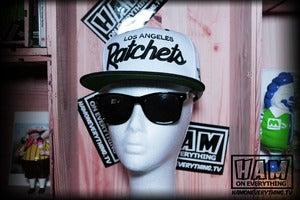 Image of LA RATCHETS SNAPBACK (white/black)