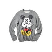 Image of SLOTH'D Mouse crew neck pullover sweater