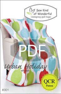 Image of Urban Holiday ~ Pattern #301 (PDF Pattern)