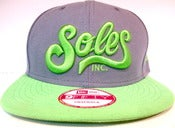 Image of Lime snapback