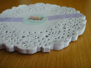 Image of Paper doily lace