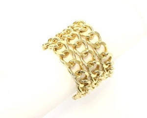 Image of Gold Chain Link bracelet