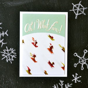 "Image of ""Oh! What Fun!"" Holiday Card"