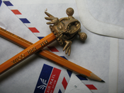 Image of Bronze Monster Pencil Topper
