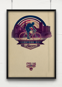 Image of Downtown Guy - Siempre 'Cycling for Everyone' series
