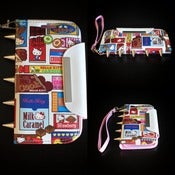 Image of Hello Kitty Palm Wallet for the Samsung Galaxy 3, Iphone 4 & 5 (FREE SHIPPING)