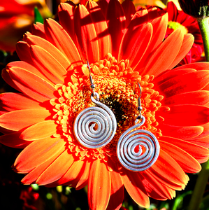 Image of Baby Spiral Earrings