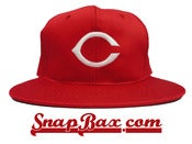 Image of Vintage Deadstock Cincinnati Reds Snapback hat cap