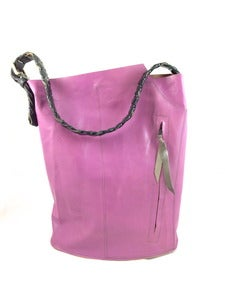 Image of bubble gum bucket tote