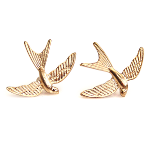 Image of Swooping Swallow Stud Earrings