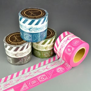 Image of Letter Scrapaholic Washi Tape