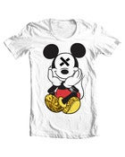 Image of White SLOTH'D Mouse T-shirt
