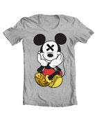 Image of Grey SLOTH'D Mouse T-Shirt