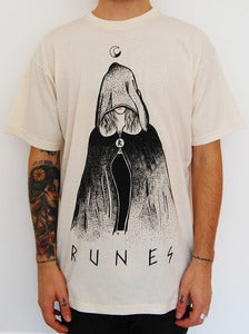 "Image of RUNES ""Witch"" t shirt natural"