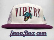 Image of Vintage deadstock Detroit Vipers IHL Sports Specialties Snapback Hat Cap