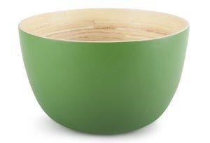 Image of Core Bamboo XL Bowl: Emerald Green