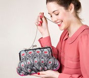 Image of Bold Peacock Ambrosia handbag - Limited edition
