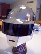 Image of Chrome Daft Punk Helmet
