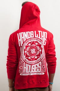 Image of Hands Like Houses - Red Collisions Hoodie