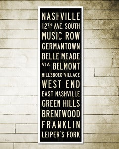 Image of The Nashville Bus Scroll.